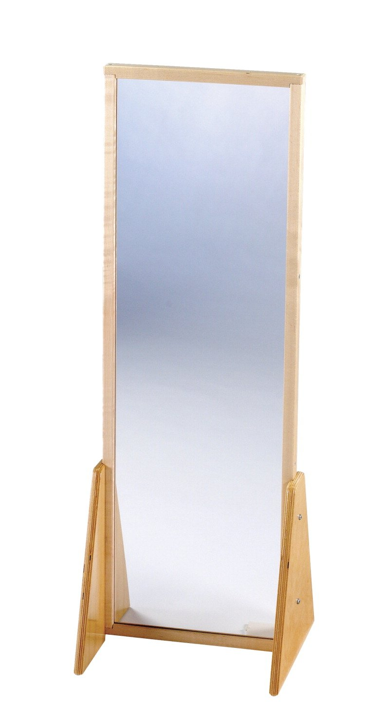 Childcraft 2 Position Acrylic Mirror, Small, 13-1/4 x 11-3/4 x 36-1/2 Inches