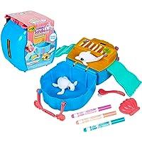 Crayola Scribble Scrubbie Seashell Splash Set, Washable Sea Creature Figurines, Portable Travel Toy for Kids, Colour…