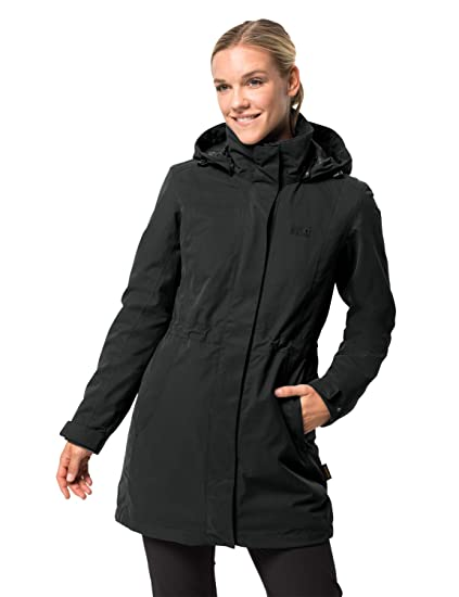 Jack Wolfskin Damen 3 in 1 Mantel Ottawa Coat