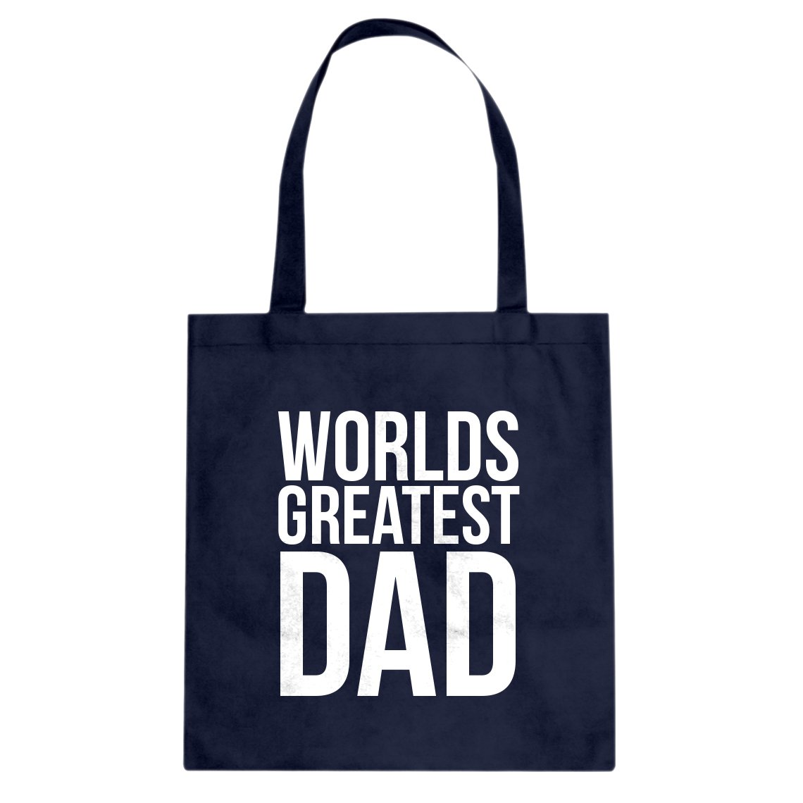 Indica Plateau Worlds Greatest Dad Cotton Canvas Tote Bag
