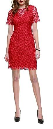 Kleid s oliver rot