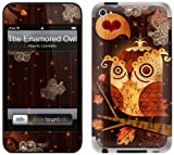GelaSkins Protective Skin for iPod Touch 4G with Access to Matching Digital Wallpaper Downloads - The Enamored Owl