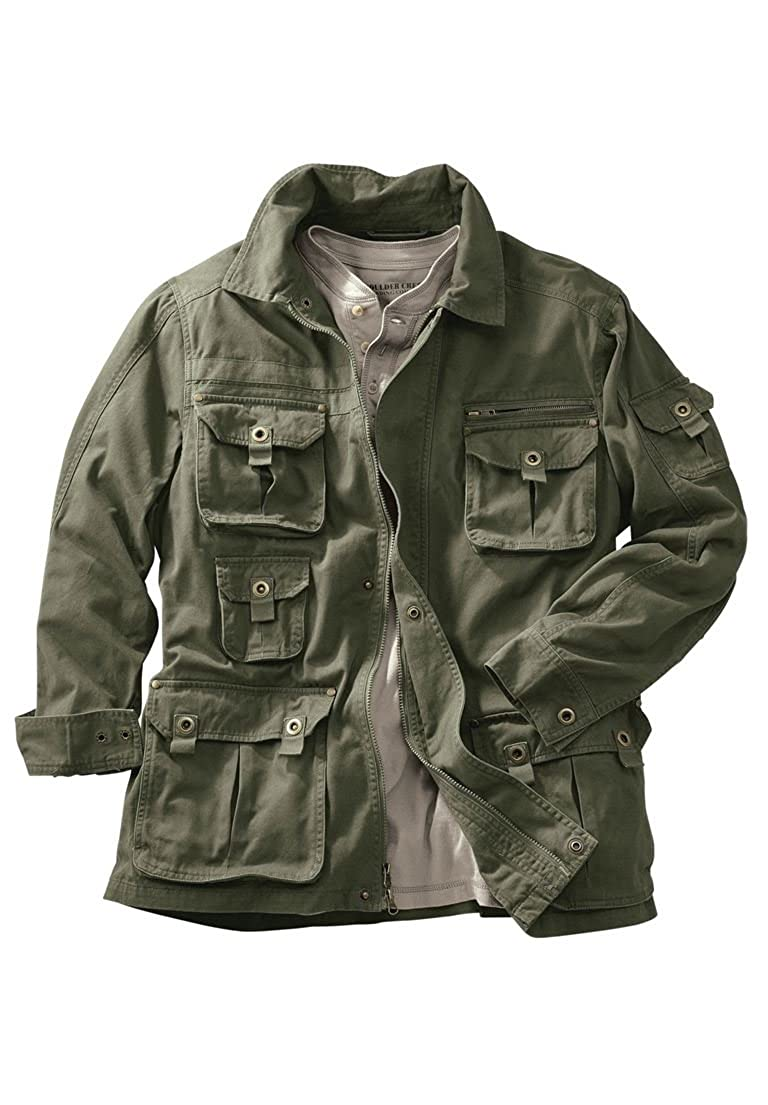 Boulder Creek Men's Big & Tall Multi-Pocket Jacket