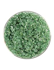 bullseye Frit, Coarse, Light Mineral Green