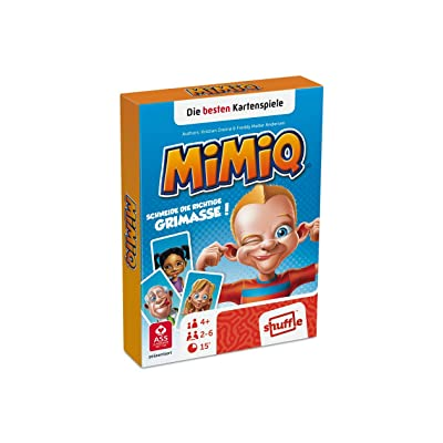 AGM Mimiq Learning Card Game - Juegos de Cartas (4 año(s), Learning Card Game, Niños, Niño/niña, 15 min, Caja de cartón): Juguetes y juegos