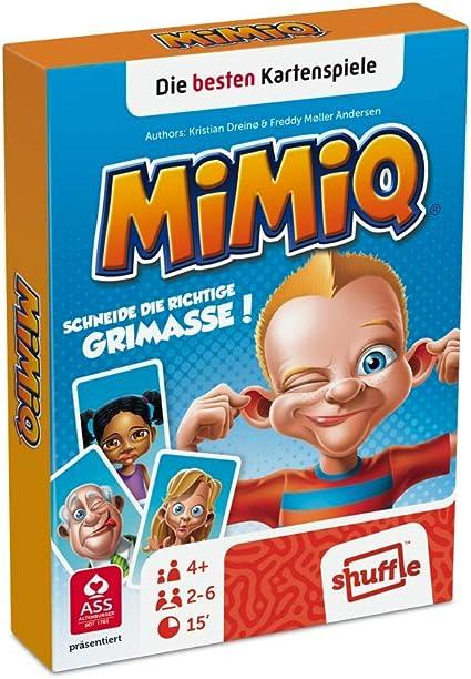 AGM Mimiq Learning card game - Juegos de cartas (4 año(s), Learning card game, Niños, Niño/niña, 15 min, Caja de cartón) , color/modelo surtido: Amazon.es: Juguetes y juegos