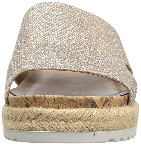 Franco Sarto Women's L-Elina Slide Sandal, Orange Platinum