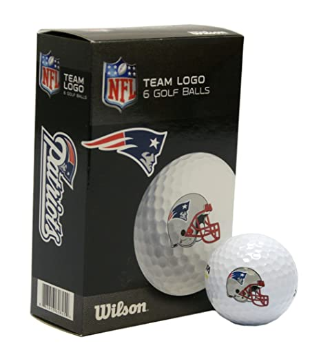85adb5597e5 Image Unavailable. Image not available for. Color  NFL New England Patriots  Golf Ball ...