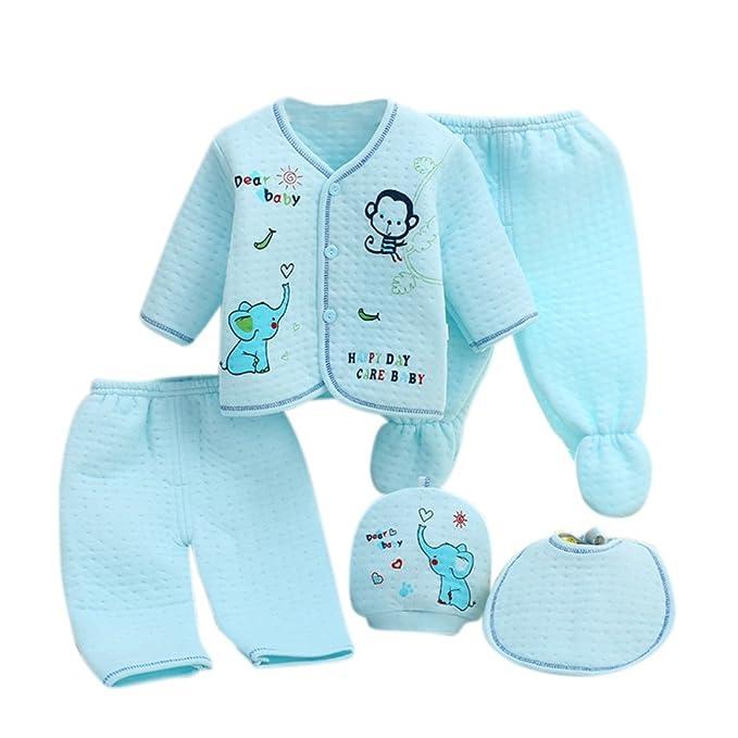 Neugeborenes Baby 5er Baumwolle Kleidung Set Essentials Bundle