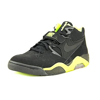 the latest b3b87 7f2d5 Nike Air Force 180 Mens Basketball Shoes 310095-012 Black 7.5 M US