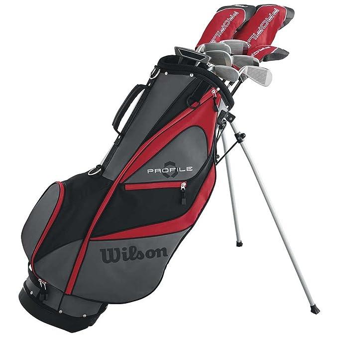Wilson - Juego de Palos de Golf para Hombre (Acero y Madera ...