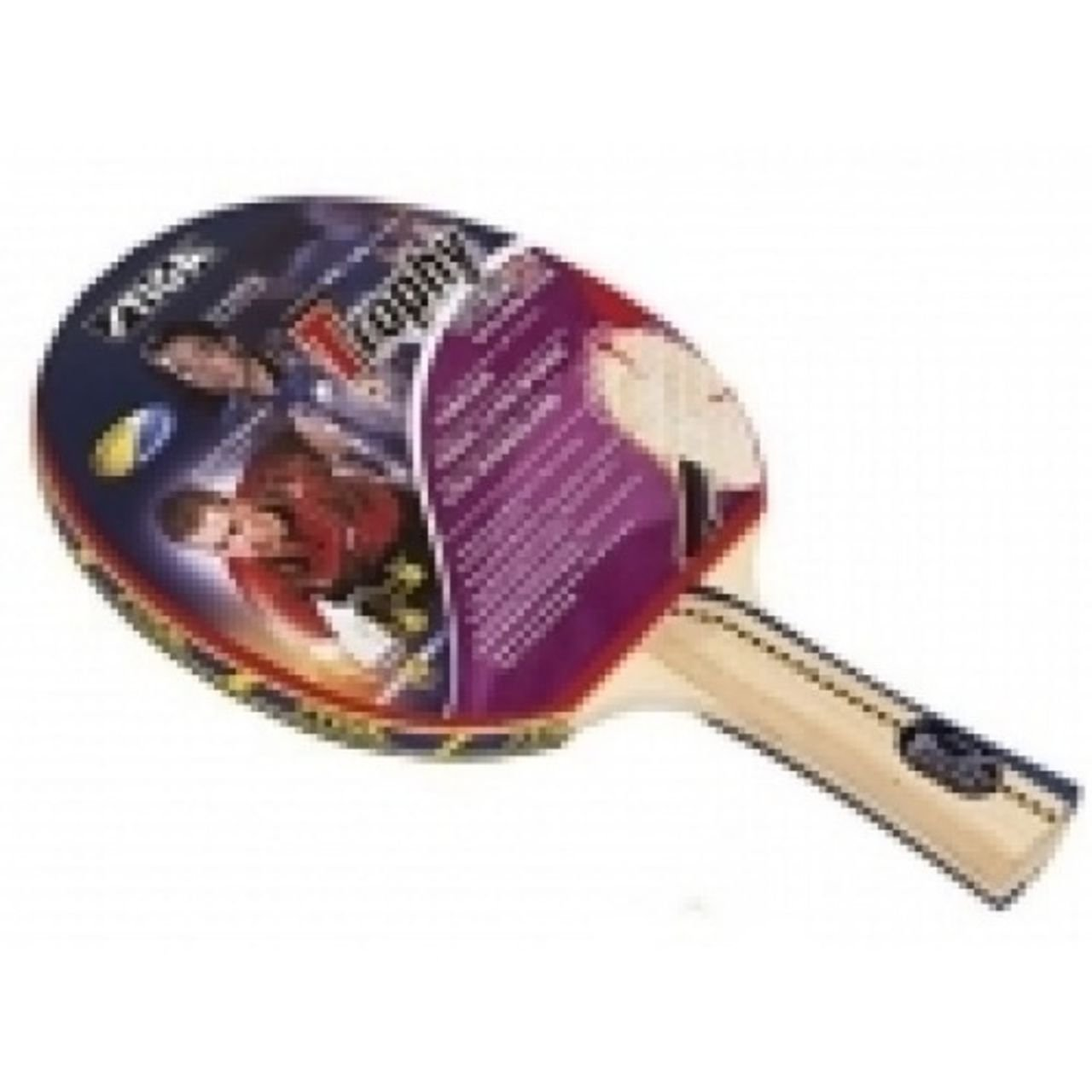 Stiga Trophy Ittf Approved Blade Light Weight Easy Grip Table Tennis Bat 5 Ply