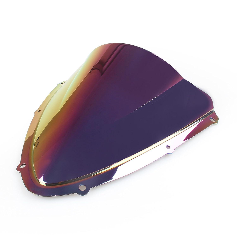 Artudatech Windshield WindScreen Double Bubble For Suzuki GSXR 600//750 2008-2009 K8 Clear