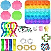 Fidget Set De Juguetes Sensoriales,24 Piezas Fidget Toys Juguetes Para La Ansiedad Juguetes Los Dedos DescompresióN…