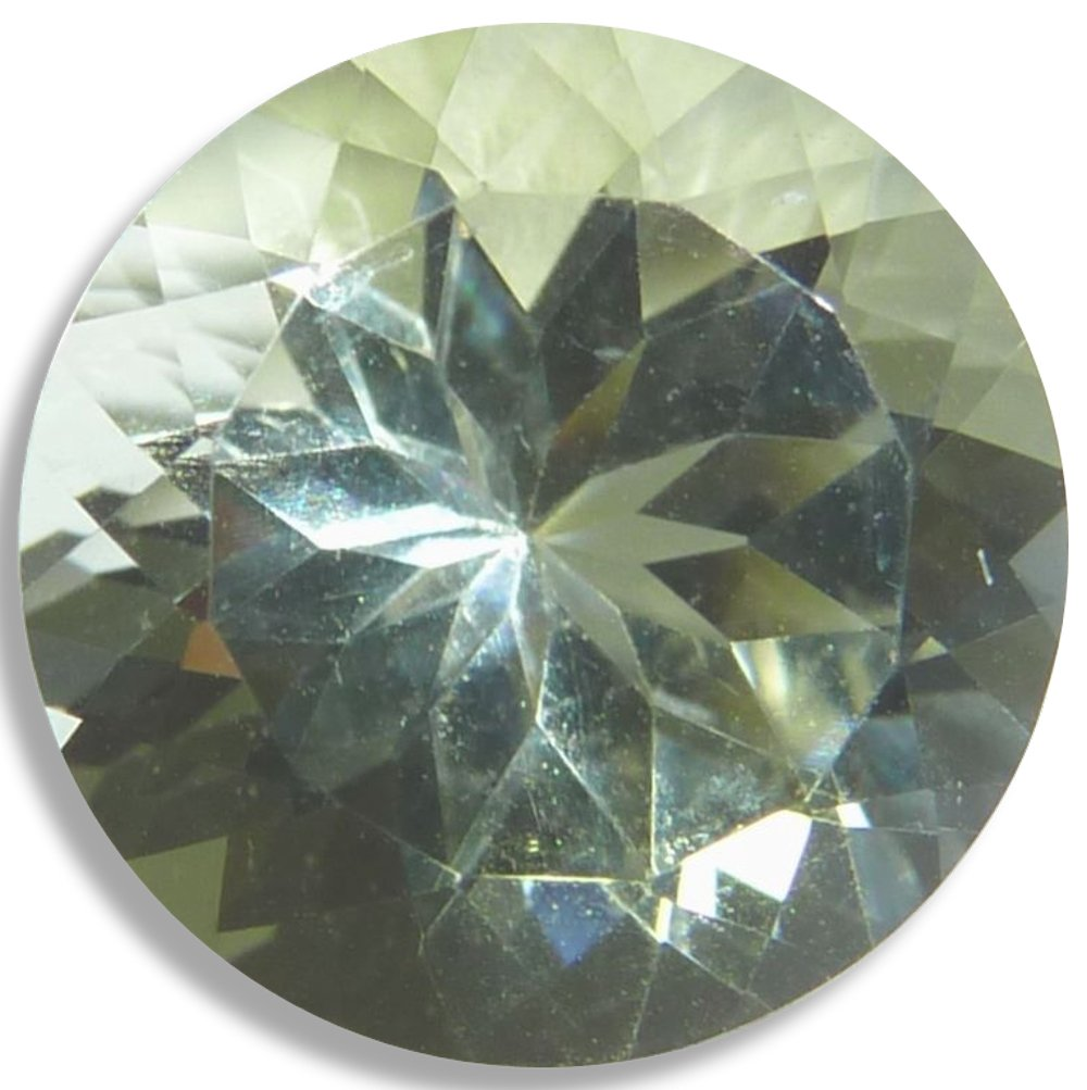 Natural Labradorite Oregon Sunstone Yellow Loose Unset Gem (6mm Round)