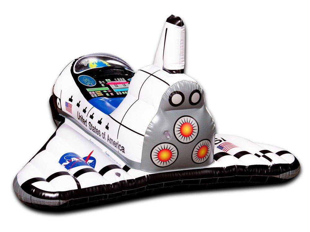 Aeromax AE-2300 Jr. Space Explorer, Inflable del transbordador ...