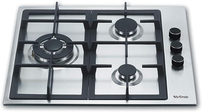Mx Onda MX-PG2200X Placa gas butano y gas natural, cocina de ...