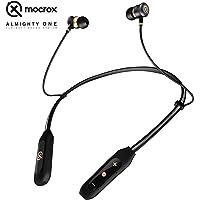 Mocrox Bluetooth Retractable Neckband Foldable Sports in-Ear Earphones