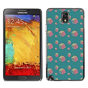 ZECASE Funda Carcasa Tapa Case Cover Para Samsung Galaxy Note 3 N9000 No.0000258