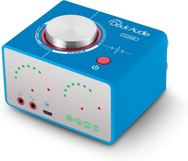Amplificador de tubo HiFi Bluetooth 5.0 al vac/ío est/éreo Tube Amplifier APTX-LL 160W /× 2 Nobsound
