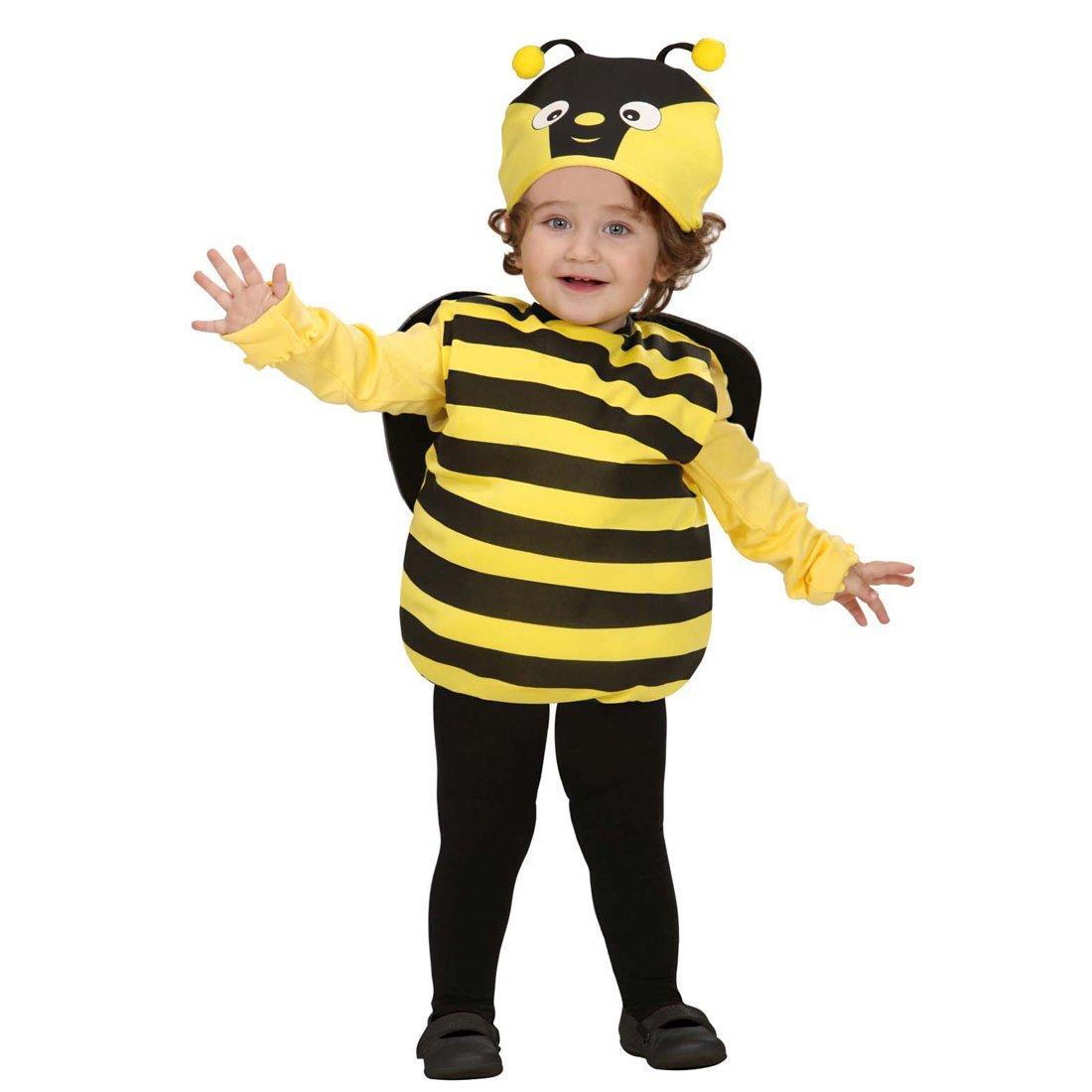 NET TOYS Bienen Kostü m Bienenkostü m Kinder 90-98 cm 1-2 Jahre Kinderkostü m Hummel Faschingskostü m Bienchen Babykostü m Tierkostü m Karnevalskostü m Baby