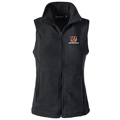 Image Unavailable. Image not available for. Color  NFL Cincinnati Bengals  Womens Houston Ladies Fleece Vest ... 475dcbdd2f