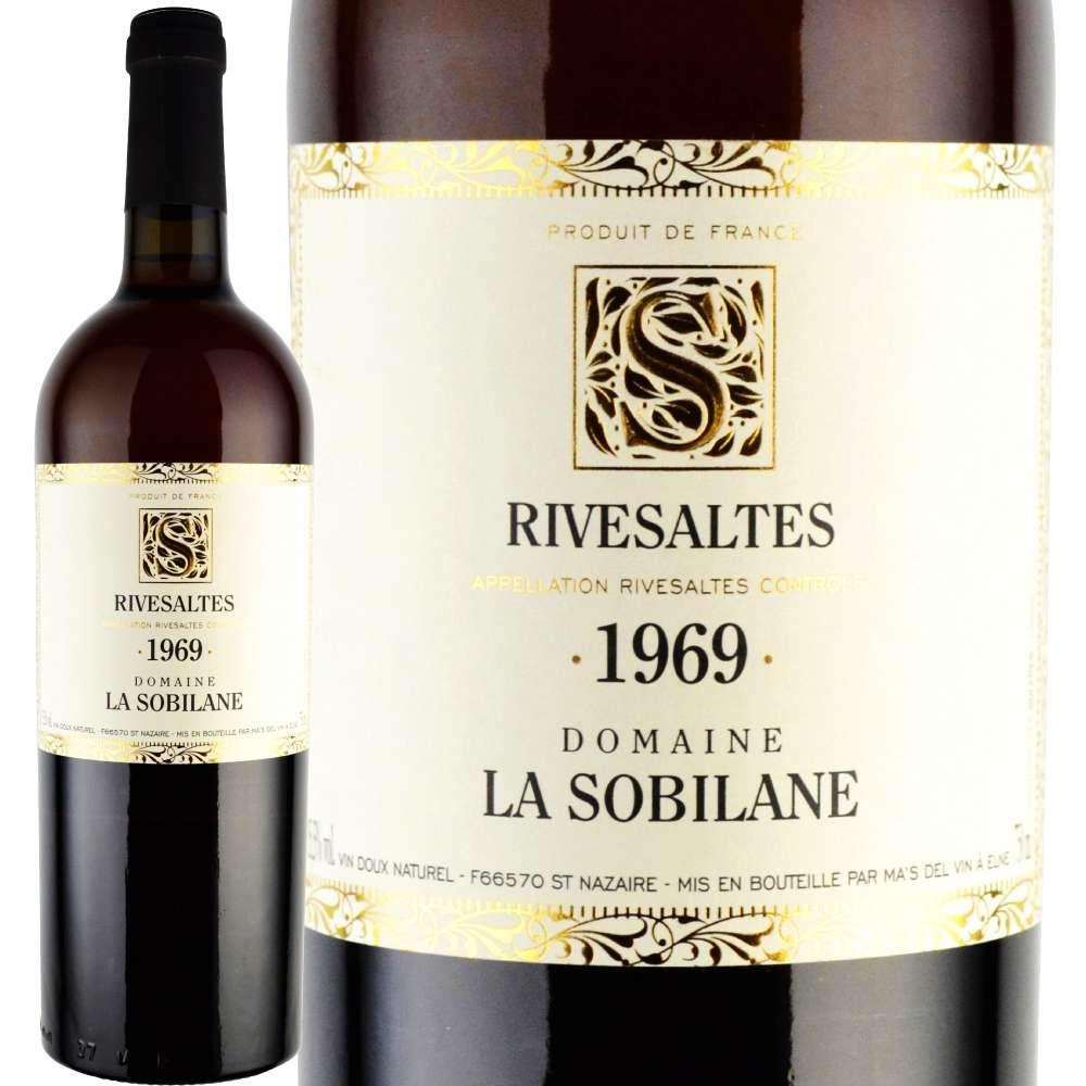 誕生日 生まれ年 プレゼント 1969年 ドメーヌラソビレーヌ/リヴザルト 750ml [正規輸入品]  B07LC5RFK2