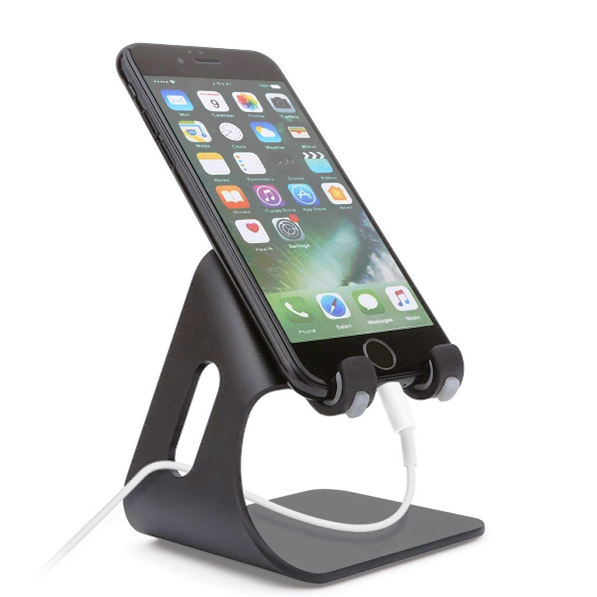 Sebsee Universal Cell Phone Stand Desk Mount Compatible iPhone Android Tablet Holder Accessories