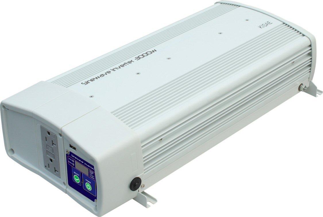 Kisae 3000 Watt Pure Sine Wave Power Inverter With True Idea Transfer Switch Car Electronics
