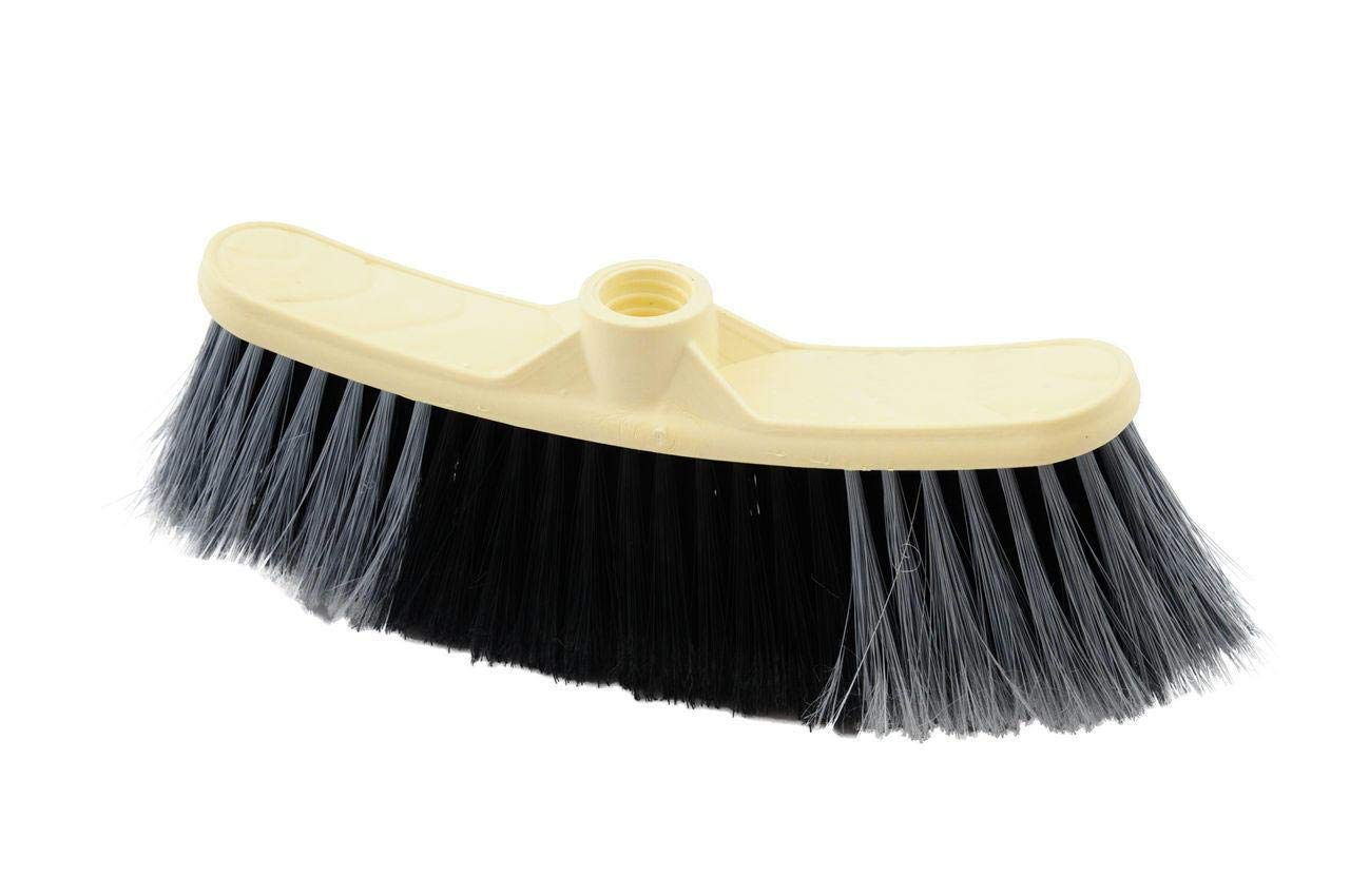 BeiMok Soft Broom Indoor Sweeping Broom Brush Head The Perfect Indoor Sweeping Kitchen Floor Brush Broom for Your House