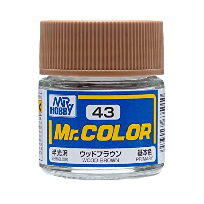 Mr. Color Wood Brown Semi Gloss 10ml: Toys & Games