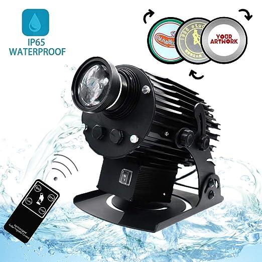 DYJD 200W LED GOBO Projector Logotipo Personalizado Rotación De ...