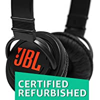 (Certified Refurbished) JBL T250SI On-Ear Headphone (Black)