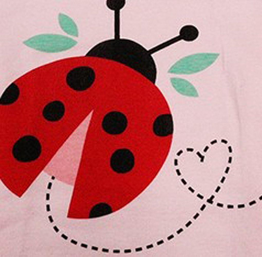 Babygp red ladybug little girls shorts 2 Piece Pajama 100/% Cotton size:2-7 years