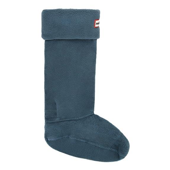 Hunter océano botas de calcetines, color azul, talla XL: Amazon.es: Zapatos y complementos