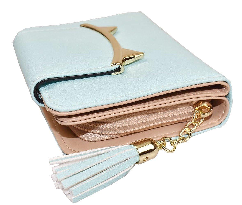 Jadedragon Women Small Wallet Coin Purse Bifold Wallet Clutch Bag Card Holder
