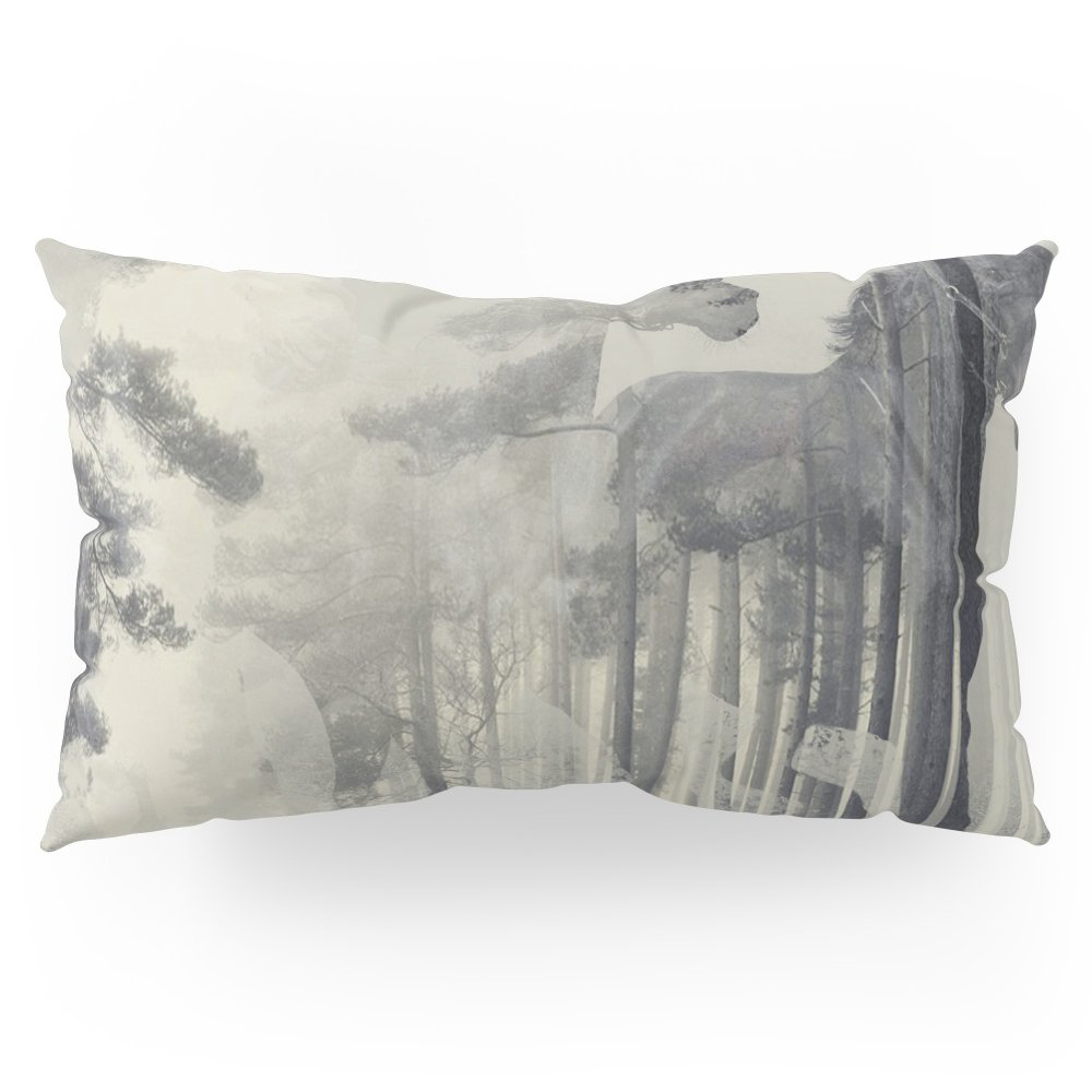 Society6 Like A Horse In The Woods Pillow Sham King (20'' x 36'') Set of 2