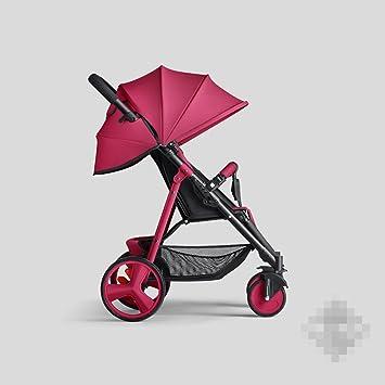 POKWAI El Cochecito De Bebé Puede Sentarse En Una Mini-plegable Simple Bebé De Los Niños Verano Portable Bebé Luz Carrito,5-OneSize: Amazon.es: Deportes y ...