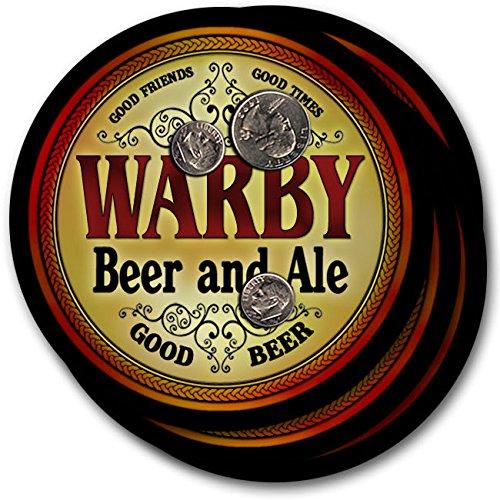 Warby Beer & Ale - 4 pack Drink Coasters