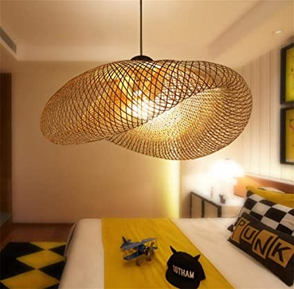 Chandelier Southeast Asia Style Kreative Bamboo Hängeblühner Lampe  Restaurant Home Hanging Ceiling Light