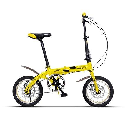 LVZAIXI Silla plegable para bicicleta para niños de 635 mm. Chica de 14 pulgadas para