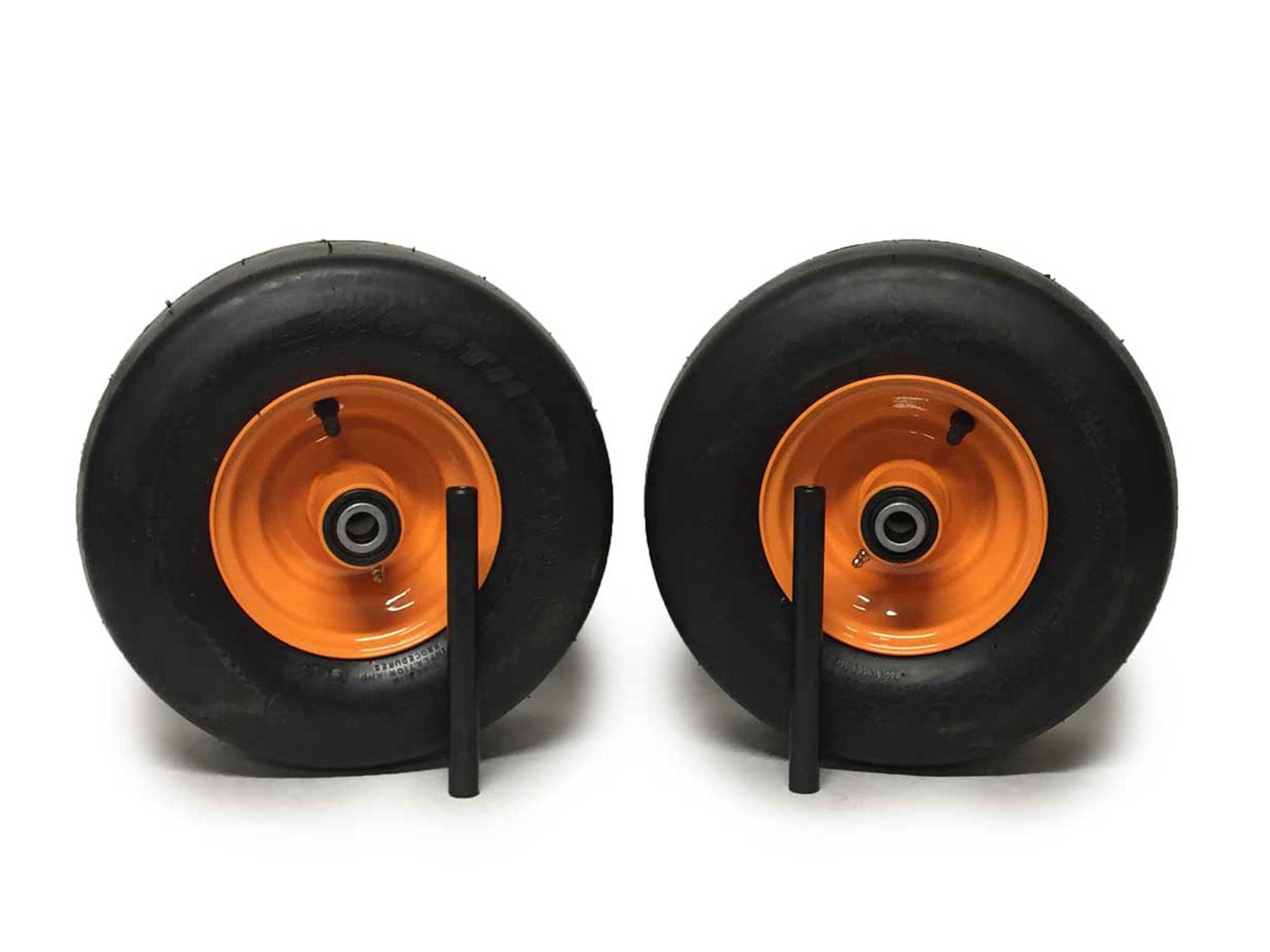 Scag Pneumatic Tire Assemblies 13x5.00-6 Orange Replaces Scag 482503 481551 9277 by MowerPartsGroup (Image #1)