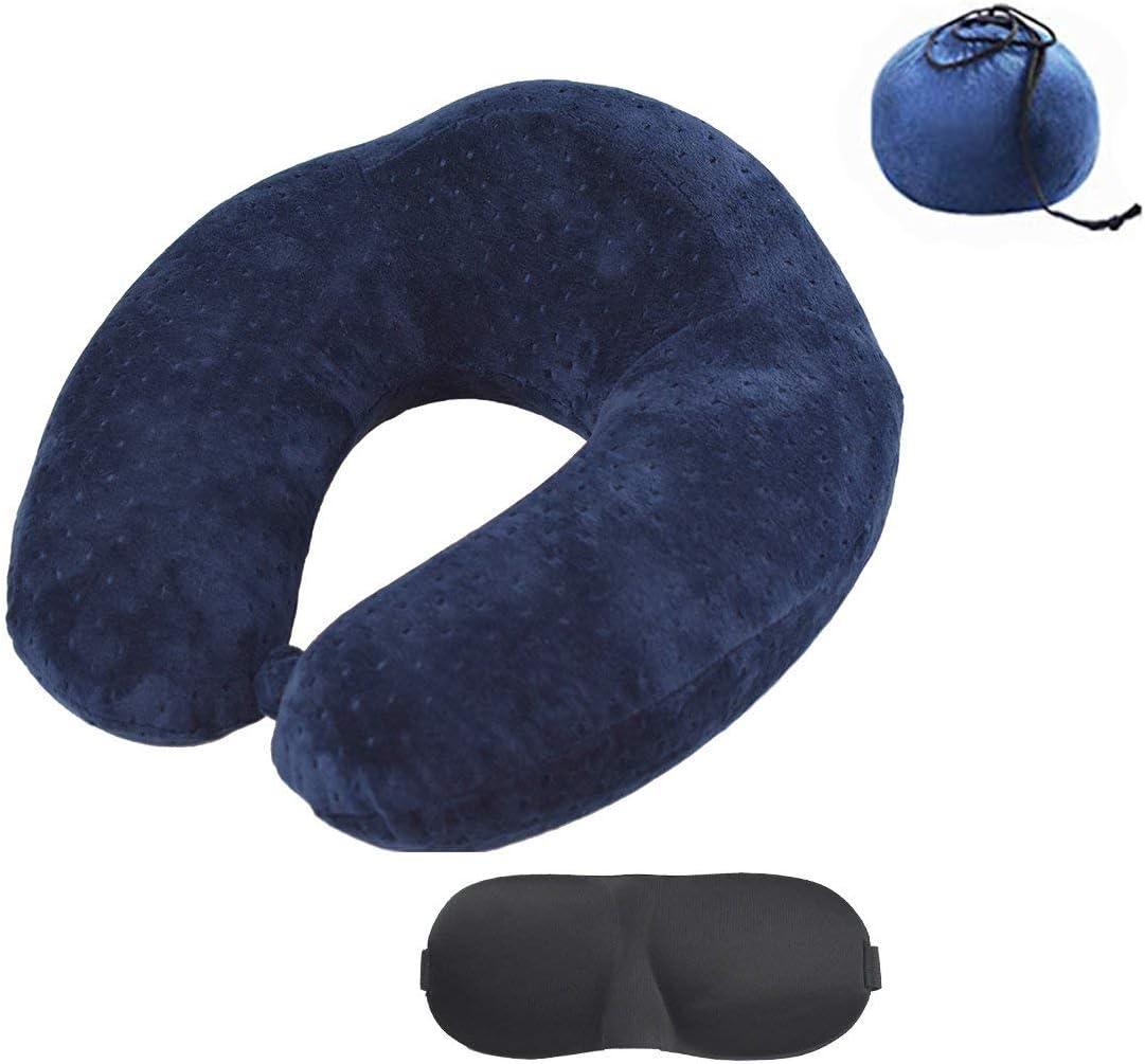 AORO ネックピロー 竹炭入り低反発携帯枕