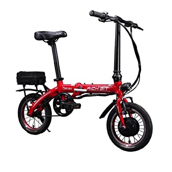 Rico Bit Top 014 – Bicicleta eléctrica plegable bicicleta de 250 W * 36 V 8