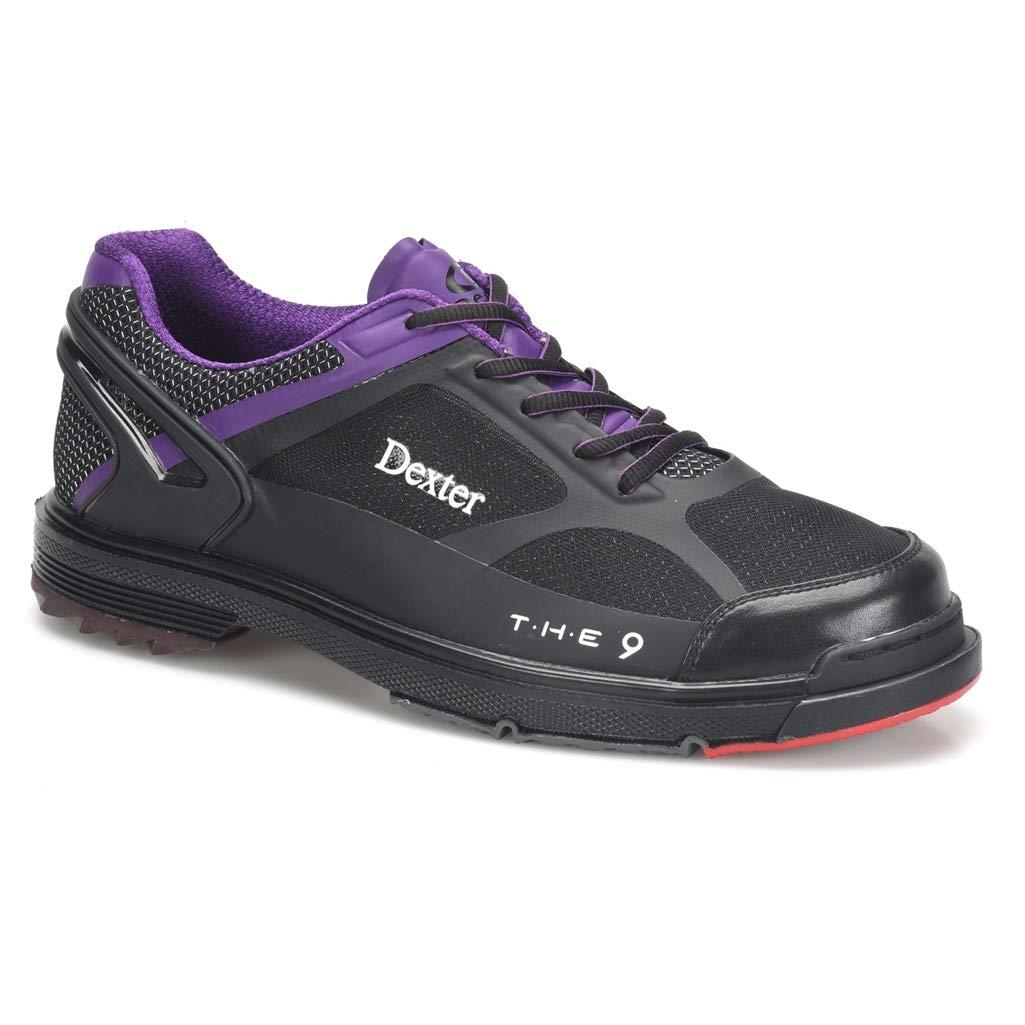 Dexter Mens The 9 HT Bowling Shoes Black//Purple