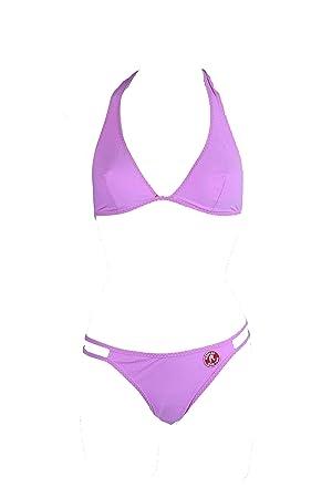Traje de baño bikini Replay Triángulo Sujetador Slip + Gr. 38 Copa B (38 Copa B): Amazon.es: Deportes y aire libre