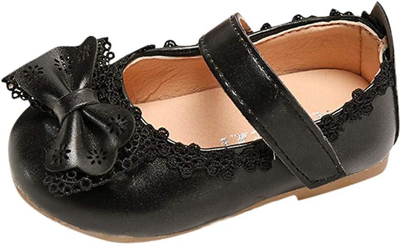 Baby infant toddler girls ballet flat dress shoes size 4-9