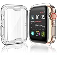 Actoper [2-Pack] Case for Apple Watch Series 5 / Series 4 (44mm)