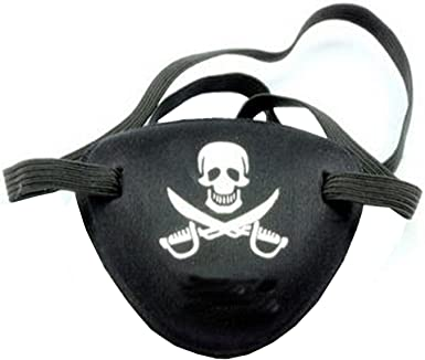 Adult Skull Pirate Eye Patch Cool Carnival Mask Costume Party Halloween Supplies