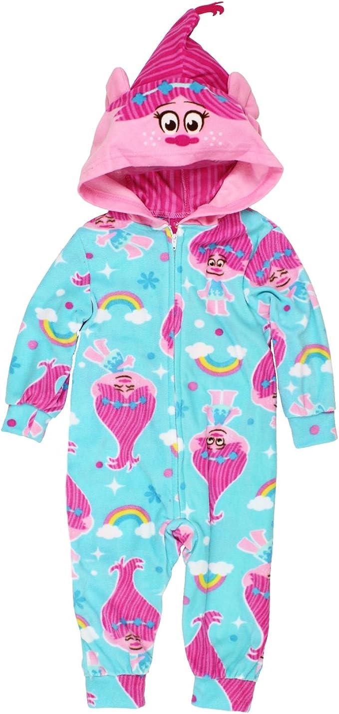 JoJo Siwa All in One Hooded 0nesie Sleepsuit Pyjama Pink Loungewear 4-12 Years